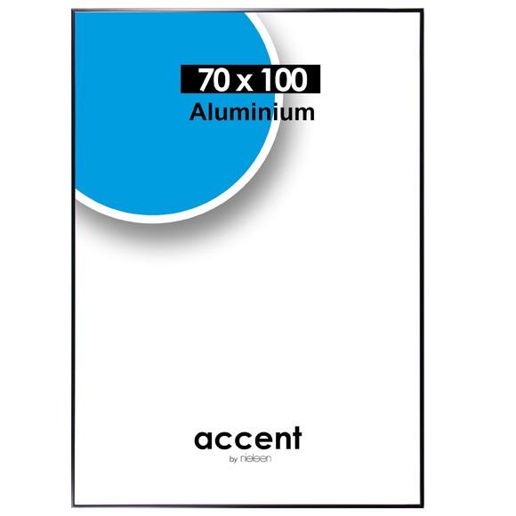 Cadre Accent Noir Mat 70x100