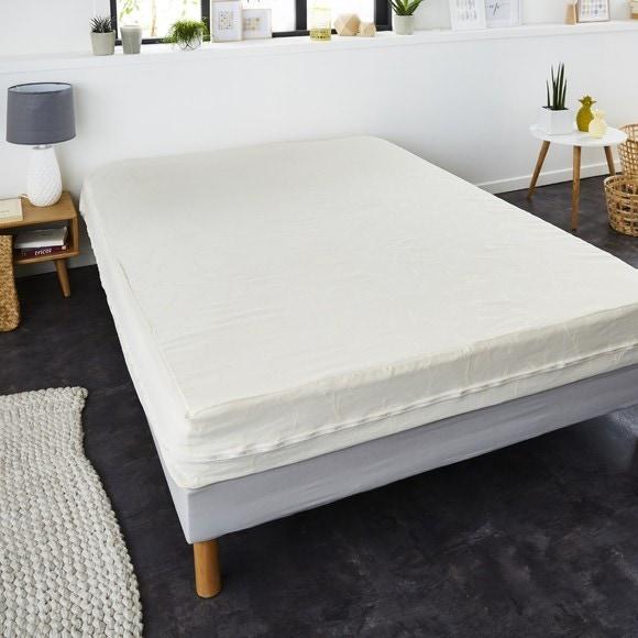 compra en línea Funda de colchón renovada tratamiento antiácaros (90 x 190 cm)