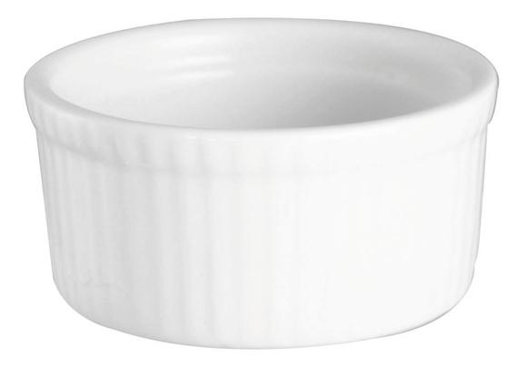 Achat en ligne Ramequin en porcelaine blanc 8cm
