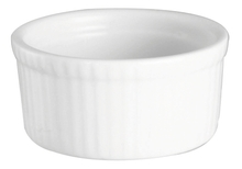 Achat en ligne Ramequin en porcelaine blanc 10cm