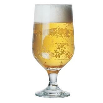 Set 3 verres à bière en verre transparent Pub 38cl