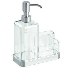 compra en línea Dispensador de jabón líquido y soporte para esponja 470 ml