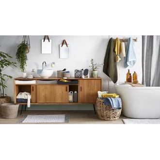 REDECKER - Brosse de bain pour le dos en bois de hêtre