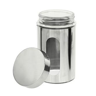 Barattolo in metallo con oblò in vetro 750ml