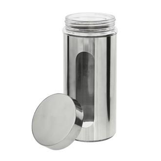 Barattolo in metallo con oblò in vetro 1000ml