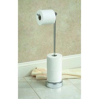 INTERDESIGN- Porte papier de toilette blanc