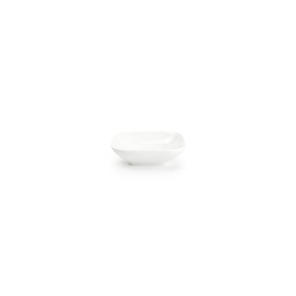 Achat en ligne Coupelle carrée en porcelaine blanche Match 9,9x9,9x2,8cm