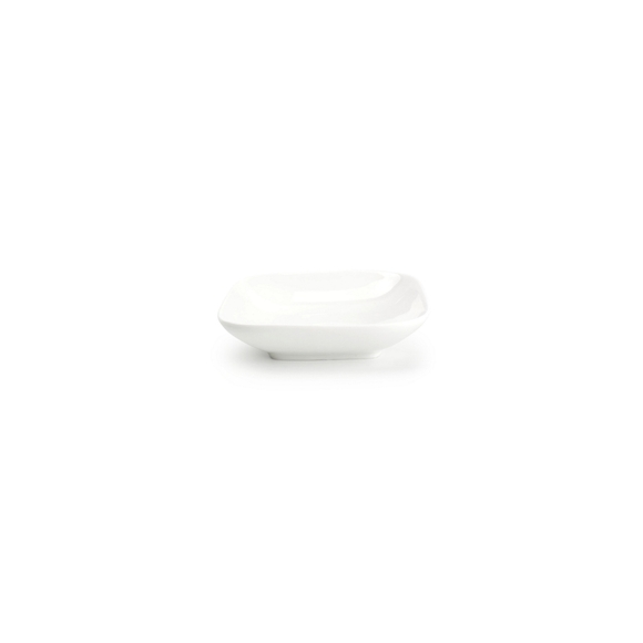 Achat en ligne Coupelle carrée en porcelaine blanche Match 12,5x12,5x3cm