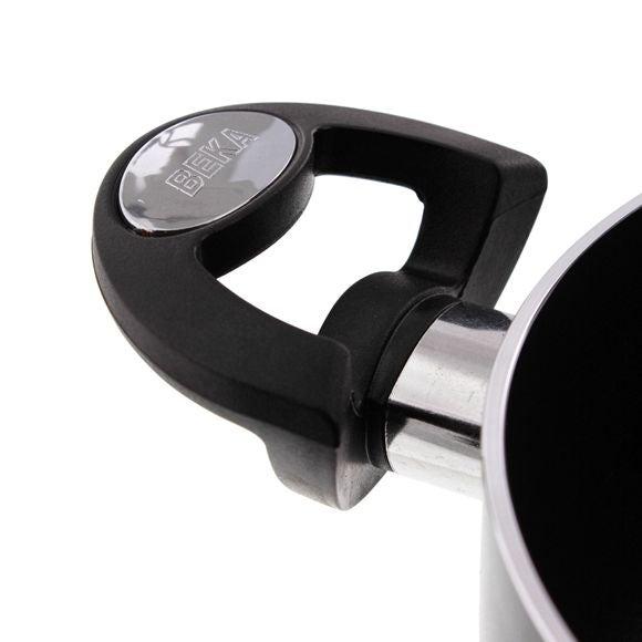 acquista online Pentola rivestita antracite con coperchio Pro indu 20cm
