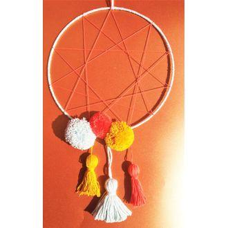 Cercle nu Rilsan blanc de diamètre 25cm