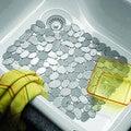 Tappetino lavello in silicone antiscivolo ciottoli 27 x 30 cm
