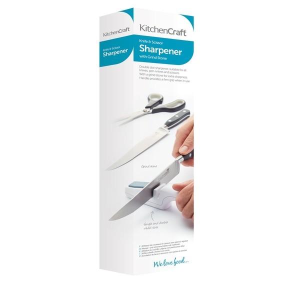 compra en línea Afilador de cuchillos y tijeras en plástico