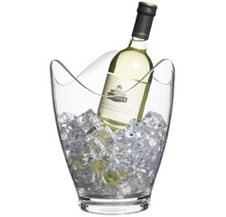 compra en línea Cubo de champán para botellas en acrílico (26 cm)