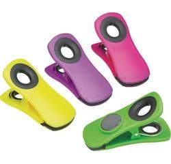 compra en línea Juego de 4 imanes de pinza clip en varios colores