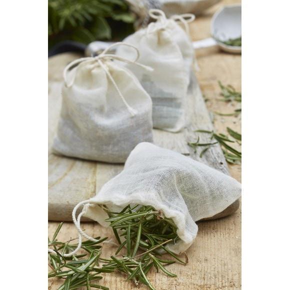 Set di 4 sacchetti per spezie
