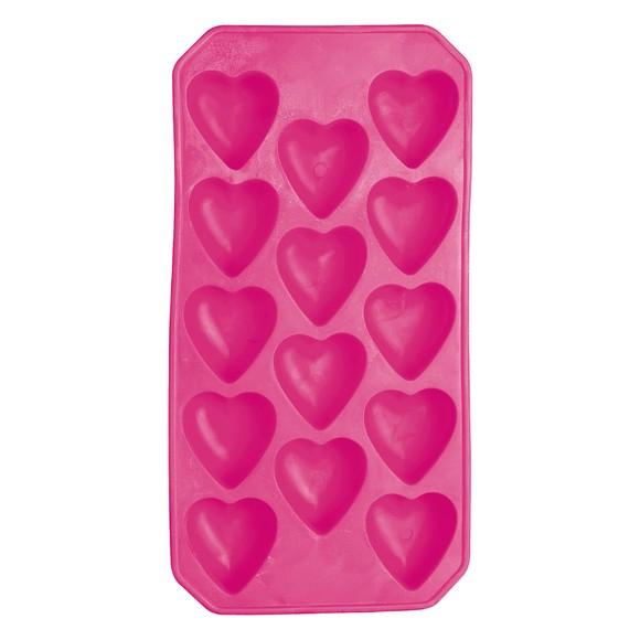 Bac pour 12 glaçons en forme de cœur