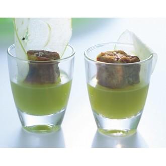 Verrine en verre transparent Gin 3,5cl