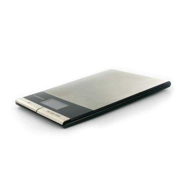 Balance de cuisine électronique extra plate en inox 5kg