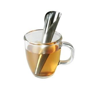 Pince à thé évasé Tube en inox