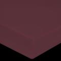 Drap housse en percale terre rouge 180X200cm