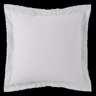 Taie d'oreiller carrée en percale nuage 65x65cm