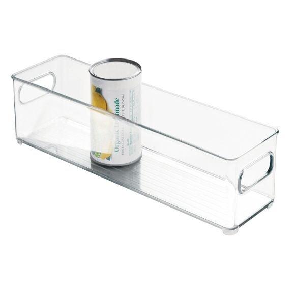 Bac de rangement frigo profond en acrylique 4x4cm