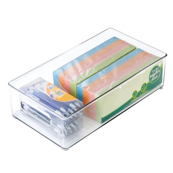 Bac de rangement frigo profond en acrylique 8x4cm