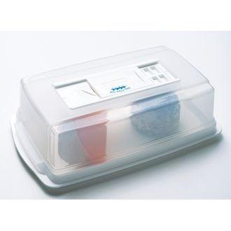 Scatola antiodore per conservare formaggi, plastica, 31x19cm