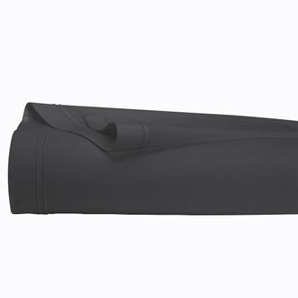 MAOM - Drap plat en percale noir 240x300cm
