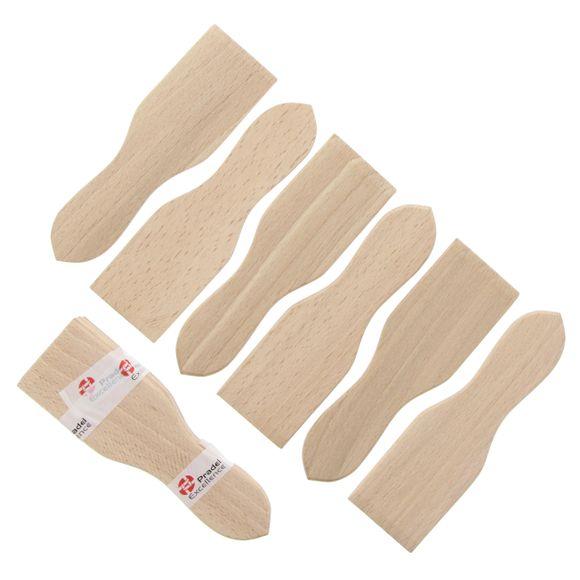 acquista online Set di 6 spatole in legno per raclette