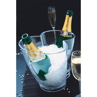 Seau champagne acrylique 26 cm