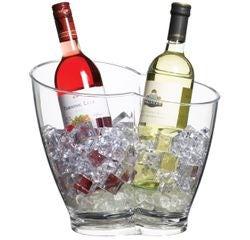 compra en línea Cubo de champán para enfriar botellas en acrílico (Ø26 cm)