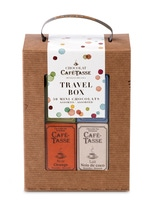 Achat en ligne Travel box de 50 tablettes de chocolat assorties 450g