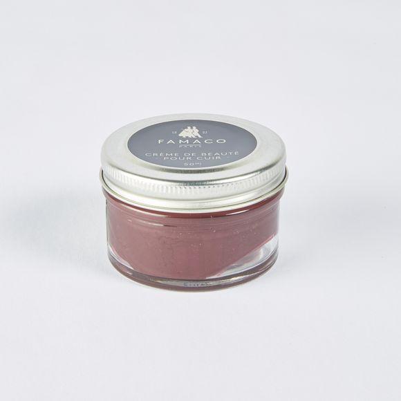 Crème beauté pour cuir bordeaux 50ml