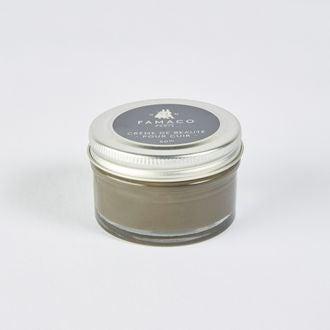FAMACO - Crème beauté pour cuir kaki 50ml