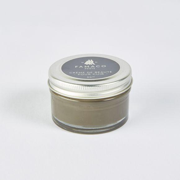 Crème beauté pour cuir kaki 50ml