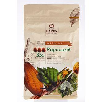 BARRY - Chocolat de couverture au lait de Papouasie en pistoles 1kg