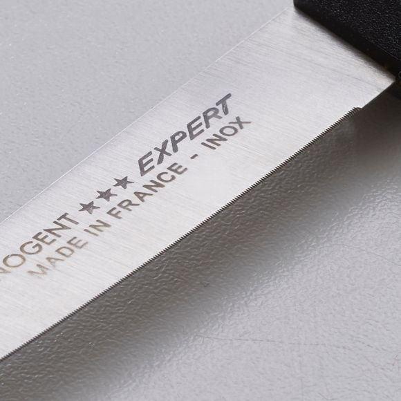 Couteau d'office microdenté noir 8cm