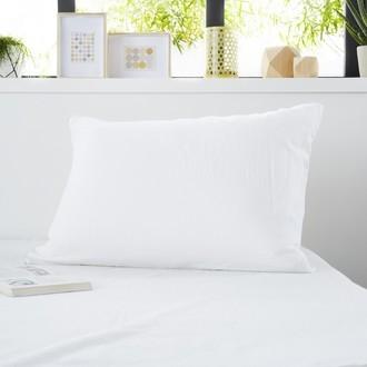 ZODIO - Protège oreiller en molleton absorbant traitement anti acariens zippé 50X70cm
