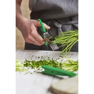 Ciseaux à herbes à 5 lames avec peigne