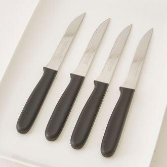Couteau à steak noir