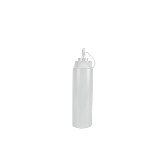 Bouteille souple en plastique transparent petit modèle