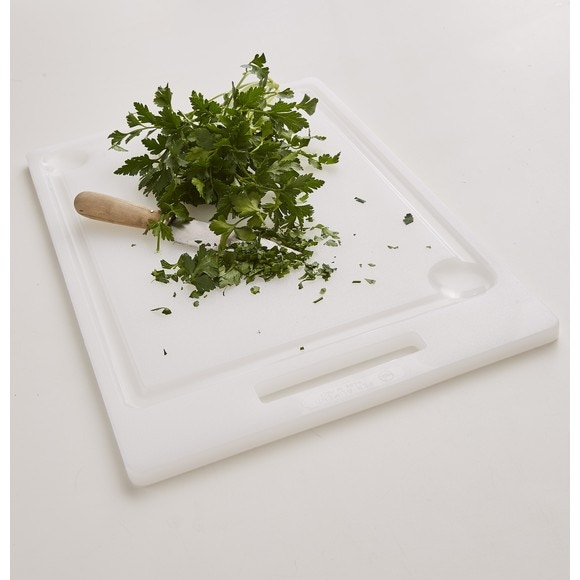 Tagliere da cucina professionale con scalanature 44x30,5x1,5cm
