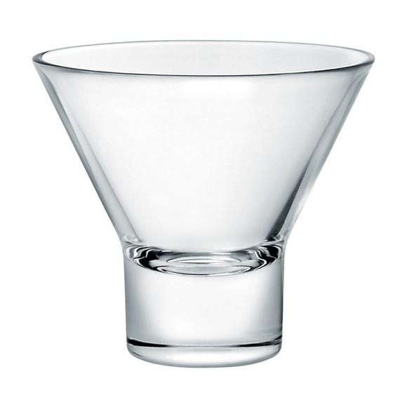 Verre à martini en verre transparent 22,5cl