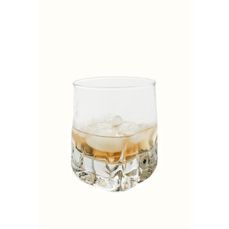 Verre à whisky en verre transparent Quartz 38cl