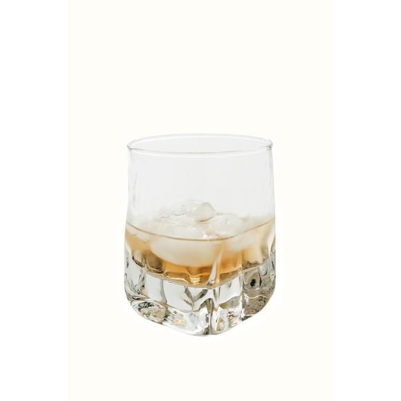 Verre à whisky en verre transparent Quartz 38cl