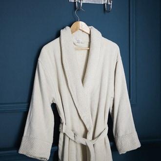 Peignoir beige Jacquard Taille S