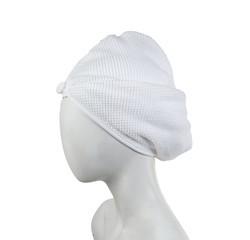 Achat en ligne Turban de sauna blanc Jacquard