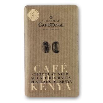 Tablette de chocolat noir au café 85g
