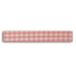Achat en ligne Rouleau de tissu adhésif thermocollant rose 1,5cmx5m
